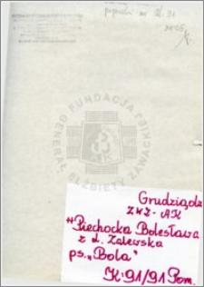 Piechocka Bolesława