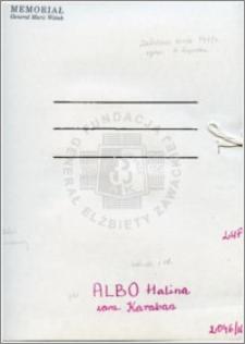 Albo Halina