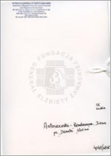 Antoszewska-Rembarzowa Irena