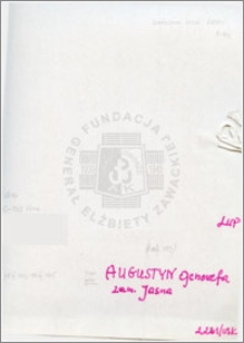 Augustyn Genowefa