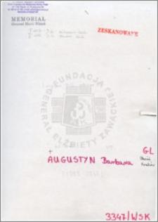 Augustyn Barbara