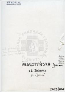 Augustyńska Janina