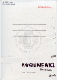 Awsiukiewicz Helena