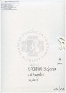 Bachman Stefania