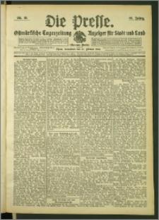 Die Presse 1908, Jg. 26, Nr. 45 Zweites Blatt