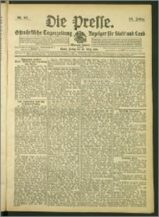 Die Presse 1908, Jg. 26, Nr. 68 Zweites Blatt