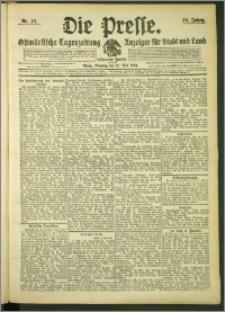 Die Presse 1908, Jg. 26, Nr. 111 Zweites Blatt, Drittes Blatt
