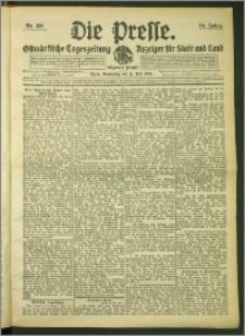 Die Presse 1908, Jg. 26, Nr. 119 Zweites Blatt, Drittes Blatt
