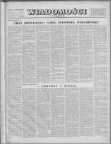 Wiadomości, R. 1, nr 4 (4), 1946