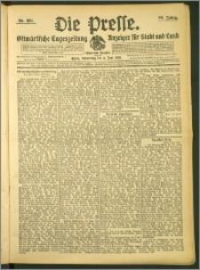 Die Presse 1908, Jg. 26, Nr. 130 Zweites Blatt, Drittes Blatt