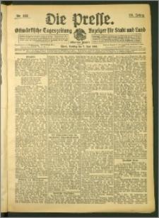 Die Presse 1908, Jg. 26, Nr. 133 Zweites Blatt, Drittes Blatt