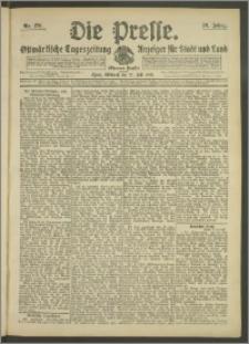 Die Presse 1908, Jg. 26, Nr. 170 Zweites Blatt