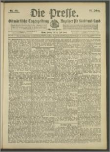 Die Presse 1908, Jg. 26, Nr. 178 Zweites Blatt