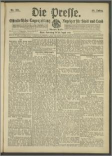 Die Presse 1908, Jg. 26, Nr. 195 Zweites Blatt, Drittes Blatt