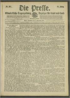Die Presse 1908, Jg. 26, Nr. 209 Zweites Blatt