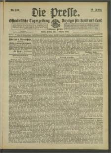 Die Presse 1908, Jg. 26, Nr. 232 Zweites Blatt, Drittes Blatt