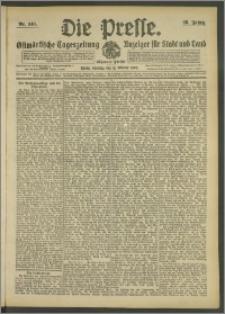 Die Presse 1908, Jg. 26, Nr. 240 Zweites Blatt, Drittes Blatt, Viertes Blatt