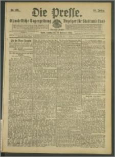 Die Presse 1908, Jg. 26, Nr. 281 Zweites Blatt, Drittes Blatt, Viertes Blatt