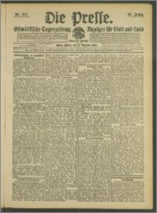Die Presse 1908, Jg. 26, Nr. 297 Zweites Blatt, Drittes Blatt