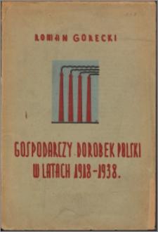 Gospodarczy dorobek Polski w latach 1918-1938