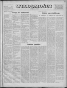 Wiadomości, R. 1, nr 25 (25), 1946