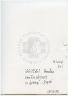 Bagińska Amelia
