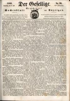 Der Gesellige : Graudenzer Wochenblatt und Anzeiger 1860.07.12 nr 80