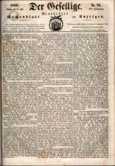 Der Gesellige : Graudenzer Wochenblatt und Anzeiger 1860.07.24 nr 85