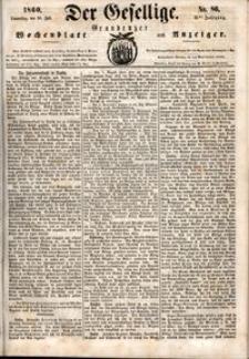 Der Gesellige : Graudenzer Wochenblatt und Anzeiger 1860.07.26 nr 86