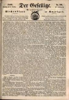 Der Gesellige : Graudenzer Wochenblatt und Anzeiger 1860.12.13 nr 146