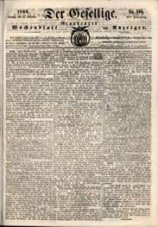 Der Gesellige : Graudenzer Wochenblatt und Anzeiger 1860.12.18 nr 148