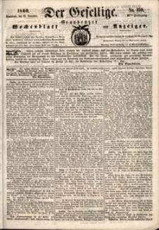 Der Gesellige : Graudenzer Wochenblatt und Anzeiger 1860.12.22 nr 150