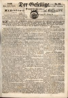 Der Gesellige : Graudenzer Wochenblatt und Anzeiger 1860.12.24 nr 151