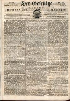 Der Gesellige : Graudenzer Wochenblatt und Anzeiger 1860.12.27 nr 152