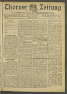Thorner Zeitung 1907, Nr. 11 Erstes Blatt
