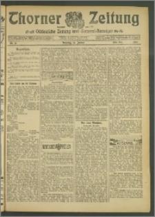 Thorner Zeitung 1907, Nr. 12 Erstes Blatt