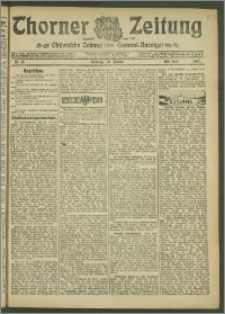 Thorner Zeitung 1907, Nr. 17 Erstes Blatt