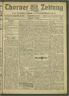 Thorner Zeitung 1907, Nr. 34
