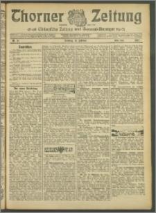 Thorner Zeitung 1907, Nr. 41 Erstes Blatt