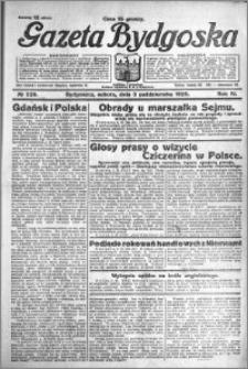 Gazeta Bydgoska 1925.10.03 R.4 nr 228
