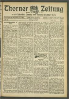 Thorner Zeitung 1907, Nr. 87 Zweites Blatt
