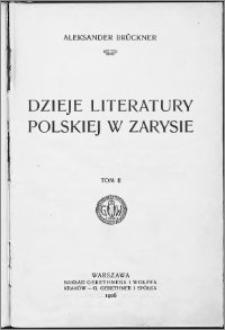 Dzieje literatury polskiej w zarysie T.2
