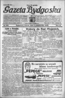 Gazeta Bydgoska 1925.10.06 R.4 nr 230