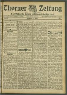 Thorner Zeitung 1907, Nr. 178