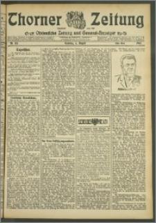 Thorner Zeitung 1907, Nr. 181 Erstes Blatt