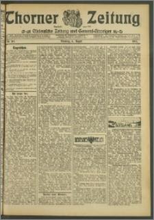 Thorner Zeitung 1907, Nr. 182