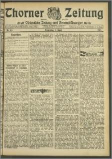 Thorner Zeitung 1907, Nr. 184