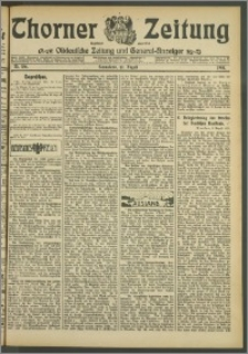 Thorner Zeitung 1907, Nr. 186