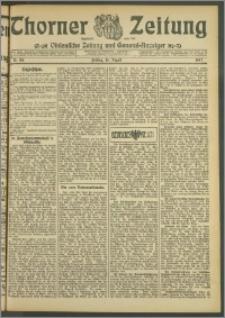 Thorner Zeitung 1907, Nr. 191