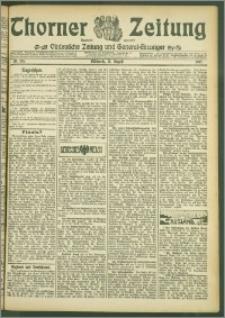 Thorner Zeitung 1907, Nr. 195